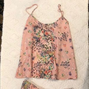 Day Lily Cami Short Set NWT!
